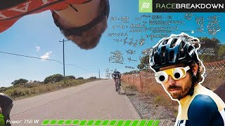 OVERTHINKING THE RACE (Road Race Breakdown - Masters State Chaps)