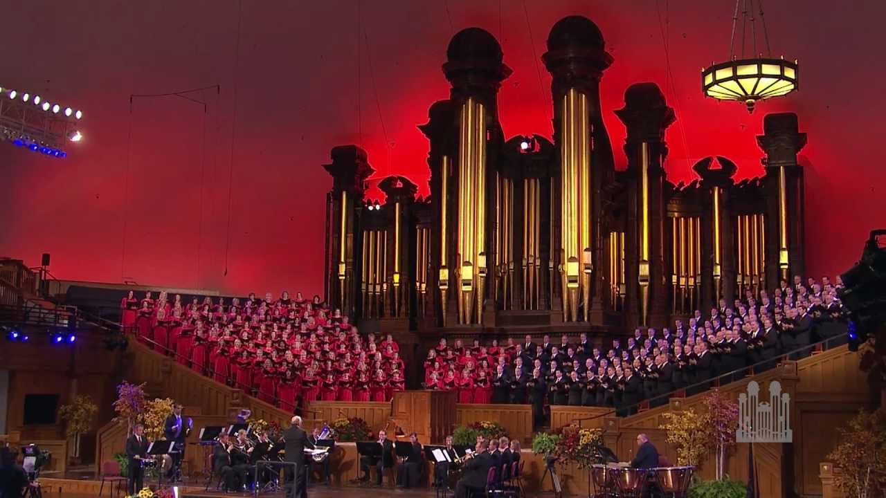 Holy, Holy, Holy - Mormon Tabernacle Choir - YouTube