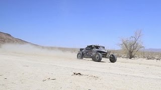 All Electric Vehicle Off Road Racing - Mexican 1000 - EV West Electric Vehicle Race Car EV1 SRD SRI