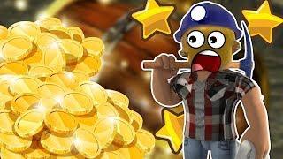 Как легко и очень быстро накопить денег в Treasure Hunt Simulator|ROBLOX|ROBLOX на русском.