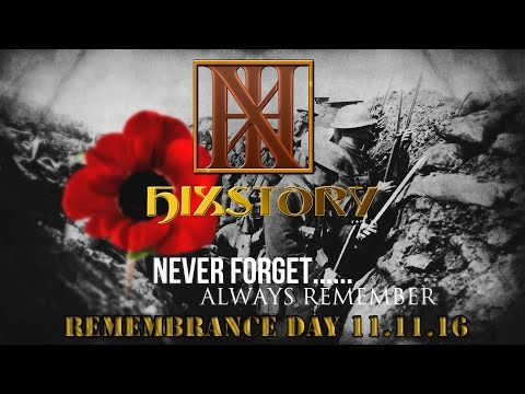 Remembrance Day 2016 - Lest We Forget - Words From Our Heroes  - Historic Footage With Readings