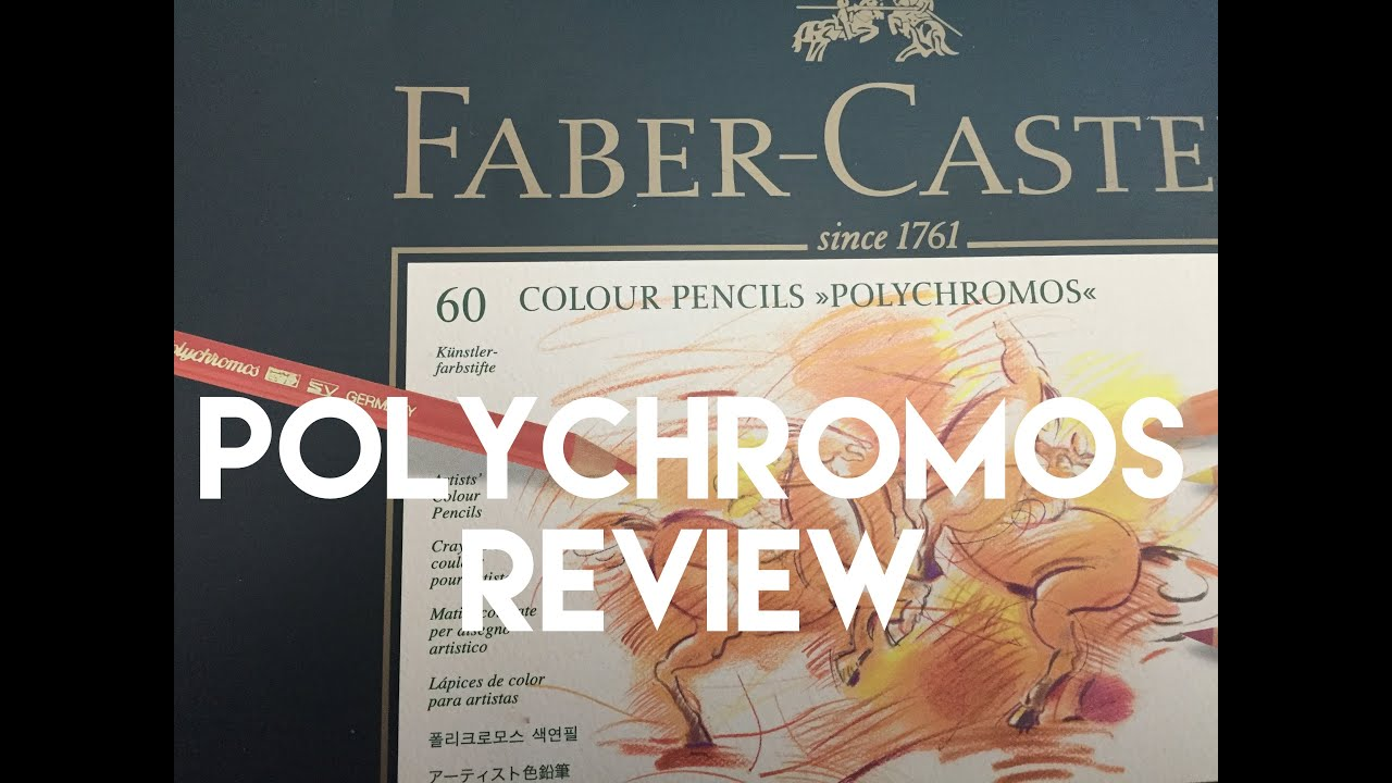 faber castell polychromos colored pencil review youtube