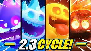 THIS IS TOO EASY!! NEW 4X SPIRIT CYCLE DECK CAN'T BE STOPPED!! - Clash Royale