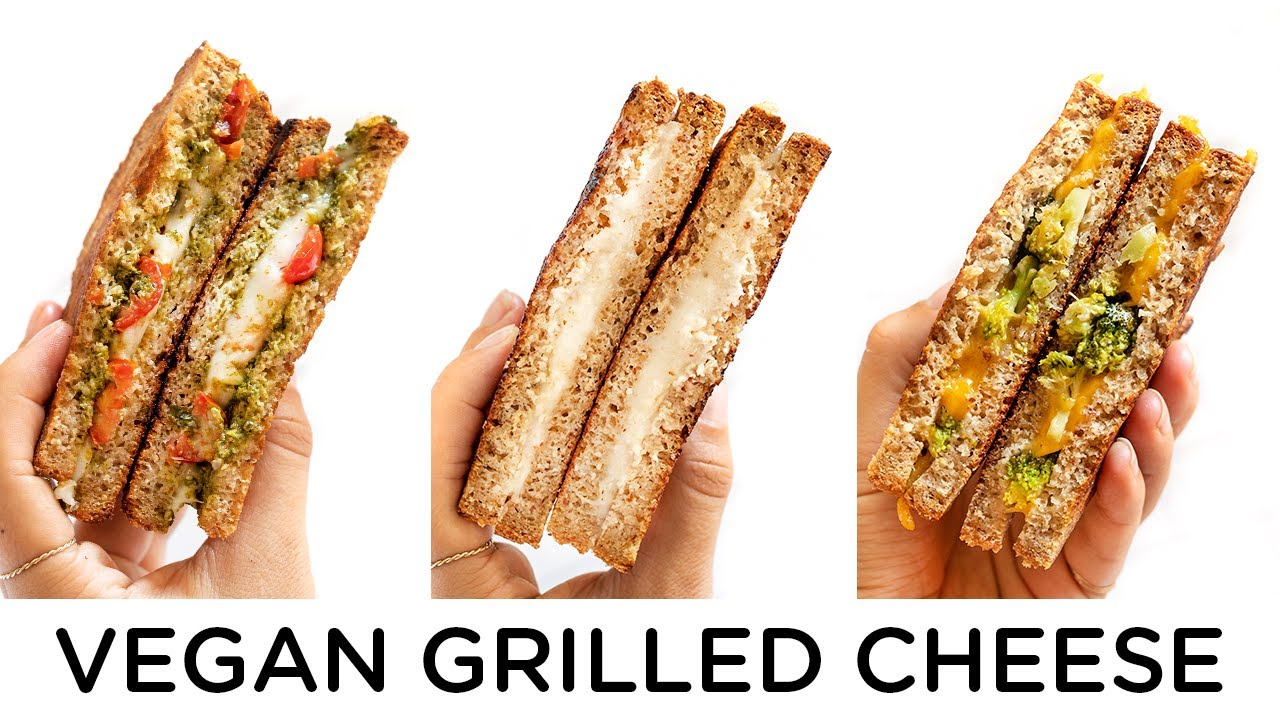 VEGAN GRILLED CHEESE ‣‣ 3 amazing ways!