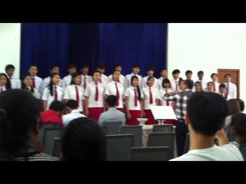 SDA Church Phnom Penh - school choir