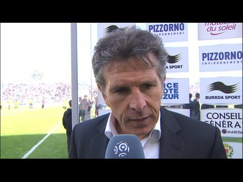 Interview de fin de match : OGC Nice - Olympique Lyonnais (1-1) / 2012-13