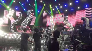 "Here's KISS performing ""I Was Made For Lovin' You"" at rehearsal for..."
