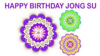 JongSu   Indian Designs - Happy Birthday