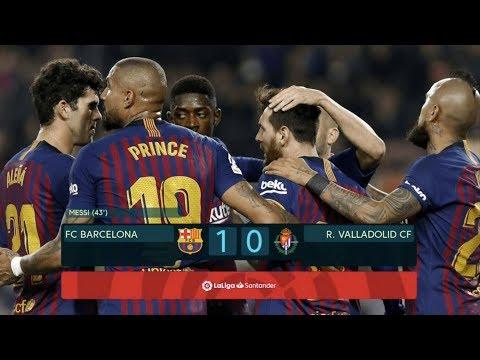 Barcelona vs Real Valladolid [1-0], La Liga 2019 - MATCH REVIEW