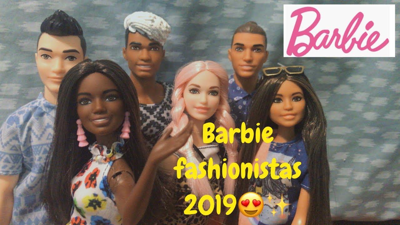 HUGE BARBIE HAUL!! NEW 2019 Barbie Fashionistas #114 #115