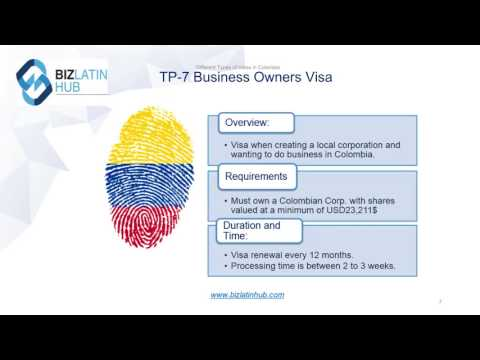 How to Apply for a Colombian Visa - Biz Latin Hub
