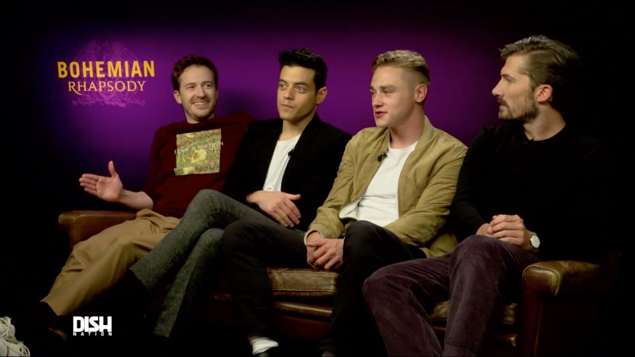 THE CAST OF BOHEMIAN RHAPSODY PROVES THEY ARE CHAMPIONS  YouTube