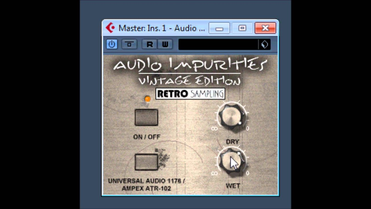 impurities vintage Audio