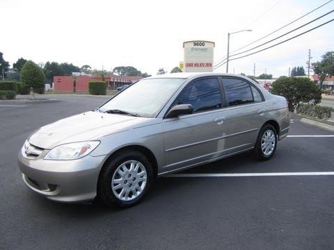 SOLD 2004 Honda Civic LX Meticulous Motors Inc Florida For Sale