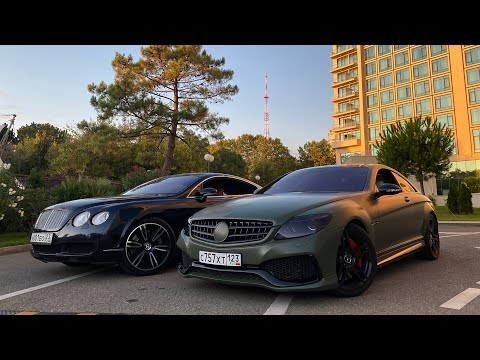 Mercedes RENNtech vs Bentley Continental GT. Каха и Чуня