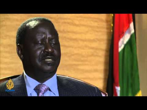 Talk to Al Jazeera - Raila Odinga: Tackling Kenya's ethnic strife