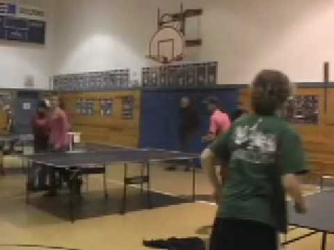 Ping Pong tournament at Guilford Central School