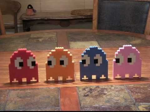 Lego Pac-Man Stop Motion
