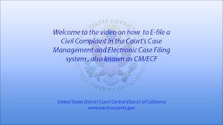 How to E-file a Civil Complaint