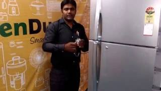 GreenDust Double Door Refrigerator Demo in Telugu