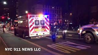 NYPD ESU Rescues Jumper Up