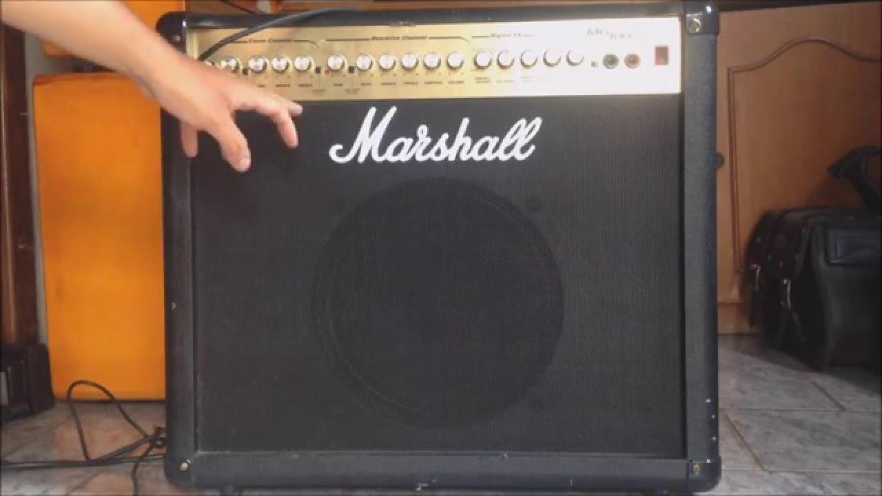 Marshall Mg100dfx Review