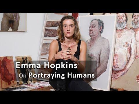 Emma Hopkins on Portraying Humans