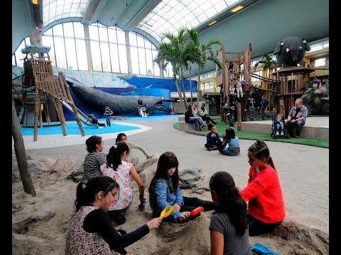 Binnenspeeltuin Biotopia Diergaarde Blijdorp - Indoor playground in Rotterdam Zoo