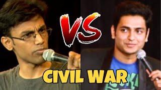 Hilarious Civil War Between Kenny Sebastian & Biswa Kalyan Rath