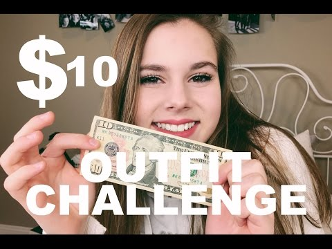 $10 OUTFIT CHALLENGE