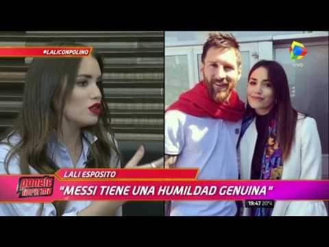"""Lali Espósito, mano a mano con Polino: """"Con Santiago fue amor a primera vista"""""""