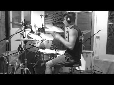 Frankie Demuru tracking drums for Myriad Drone @Toyland Rec Studios - Melbourne 2018