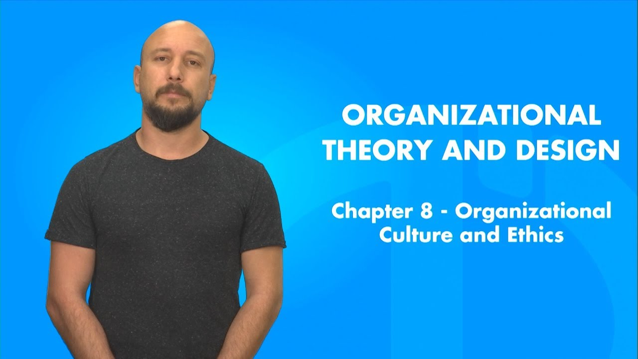 Organizational Theory And Design Chapter 8 Summary Youtube