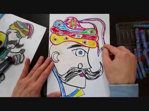 Hacivat Karagöz çizimi Nasıl Yapılır Hacivat Karagöz Diyalogları