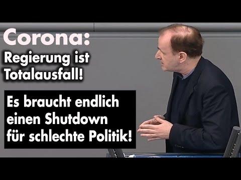 Lockdown ist verfassungswidrig und SOFORT zu beenden | Dr. Gottfried Curio