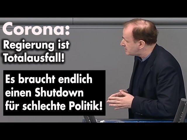 Plenarrede: Lockdown ist verfassungswidrig