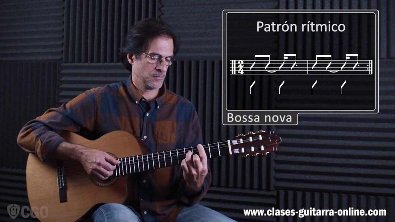 Ritmo De Bossa Nova 13 Clases De Guitarra Online