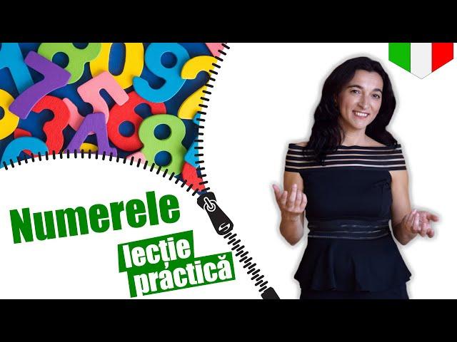 Numerele | Limba italiana | (lectie practica) VOCABULAR