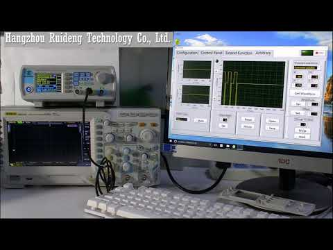JDS6600 DDS signal generator how to draw a accurate arbitrary wave form