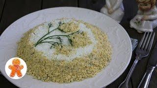 """Салат """"Мимоза"""" мой школьный рецепт (Mimosa salad)"""