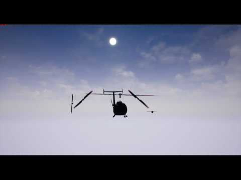 Helicopter and Airship Controller Demo