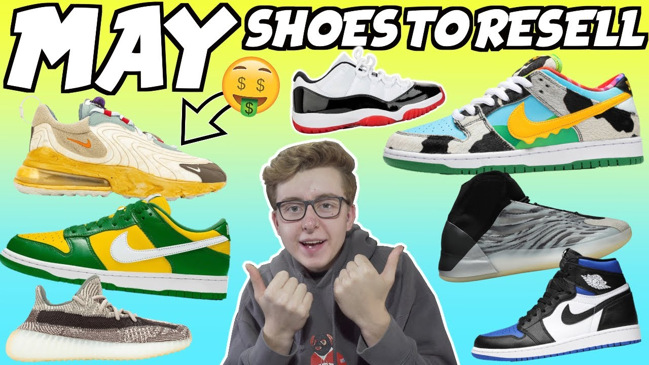 best shoes to resell 2019