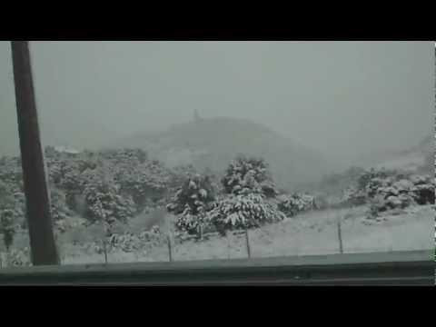 Palma mallorca nevada 2012 HD