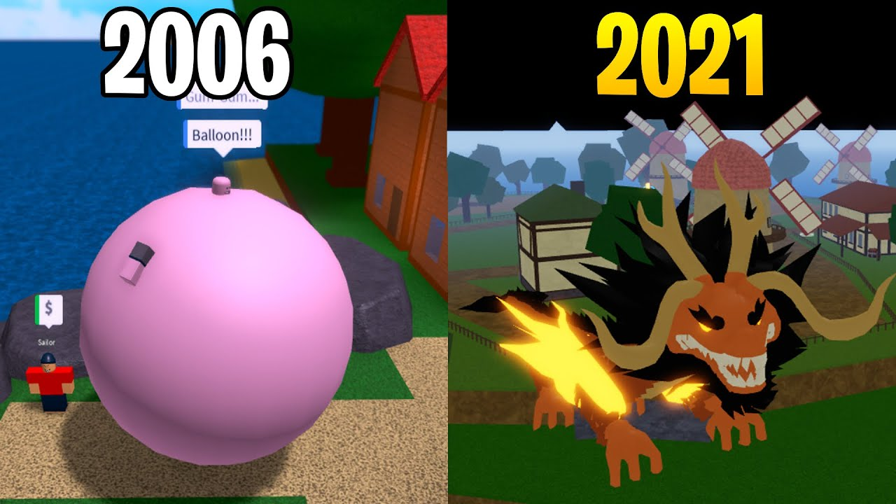 Evolution of Roblox One Piece Games! [2016-2020]