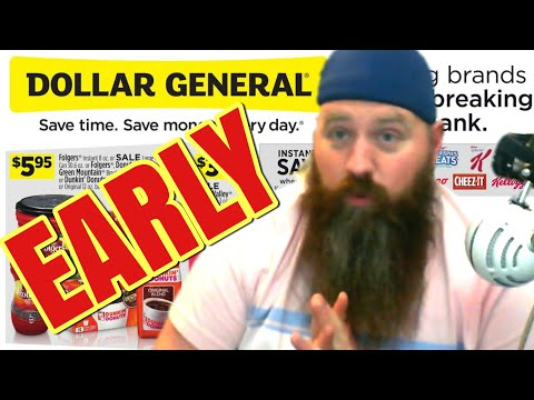 EARLY Dollar General Ad Preview 1/19 - 1/25 | New Website For Deals & Coupons