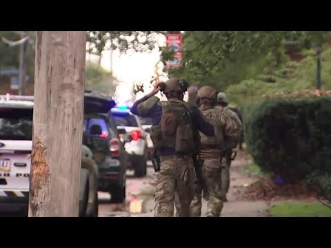 Multiple Casualties After Shooting Near Pittsburgh Synagogue   NBC News