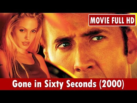 Gone in Sixty Seconds 2000 Movie **  Nicolas Cage, Angelina Jolie, Giovanni Ribisi