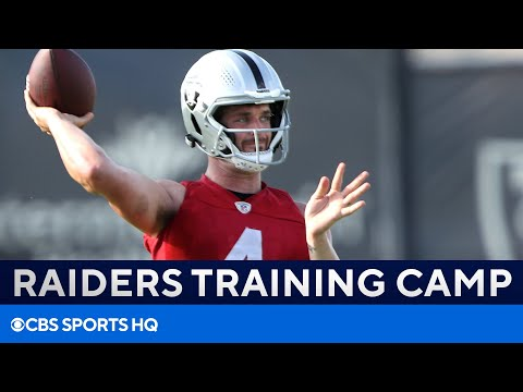 Derek Carr Says 'Best Team We've Had in A While'  2021 Raiders Training Camp  CBS Sports HQ