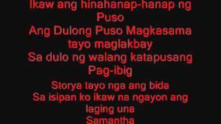 Siyam na araw (Samantha) Lyrics G