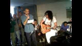 Rosana en el subte con Abel Pintos HD